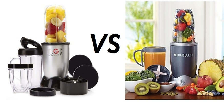 Magic Bullet Vs NutriBullet