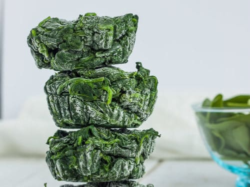 freeze your spinach